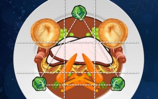 대칭을 이루면서도 삼각형 구도를 이루는 음식은 시각적으로 고급스럽게 인식된다. - 옥스퍼드대 제공